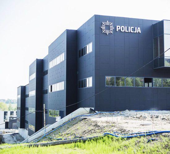 Budowa Komendy Policji w Bielsku Białej
